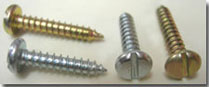 Self Tapping Screws - AB Type, Also available other type of self tapping screws with combination of Heads used for purpose self tapping without drilling, Self centering and without tapping can be used.